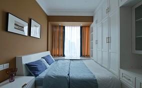 美式混搭小北欧一样精致且舒适卧室潮流混搭设计图片赏析