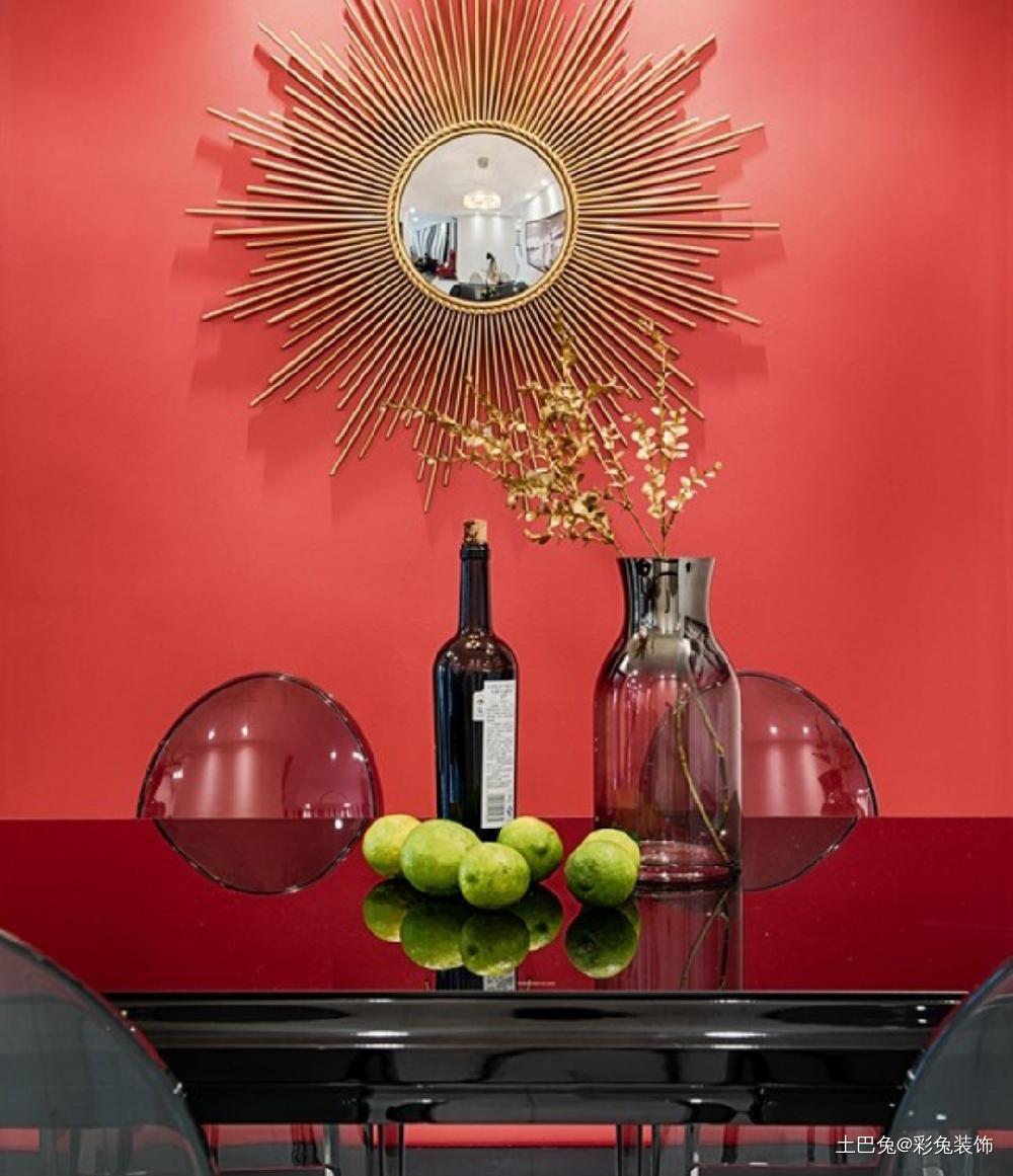 67平米现代风格餐厅简直惊艳一个家!厨房现代简约餐厅设计图片赏析
