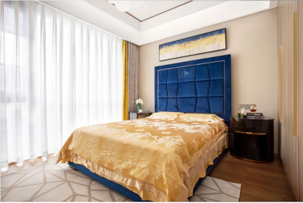 240平方现代轻奢风格卧室