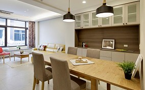 150平米低彩度简约风公寓-老宅改造15522092