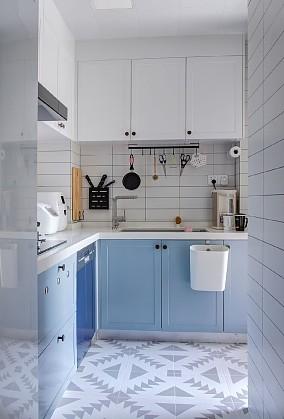 88平方二居室,北欧风格餐厅北欧极简设计图片赏析