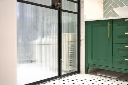 100㎡法式轻奢混搭,精致浪漫的理想生活卫生间