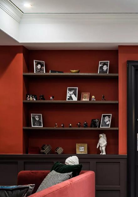 78平米现代风格,美到极致的家客厅6图