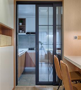 78平米现代风格,家就该这样温馨餐厅现代简约设计图片赏析