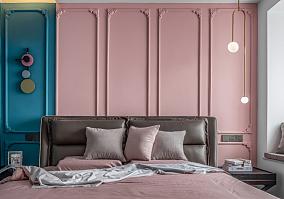 北欧的居住空间120m²三居室卧室2图北欧极简设计图片赏析