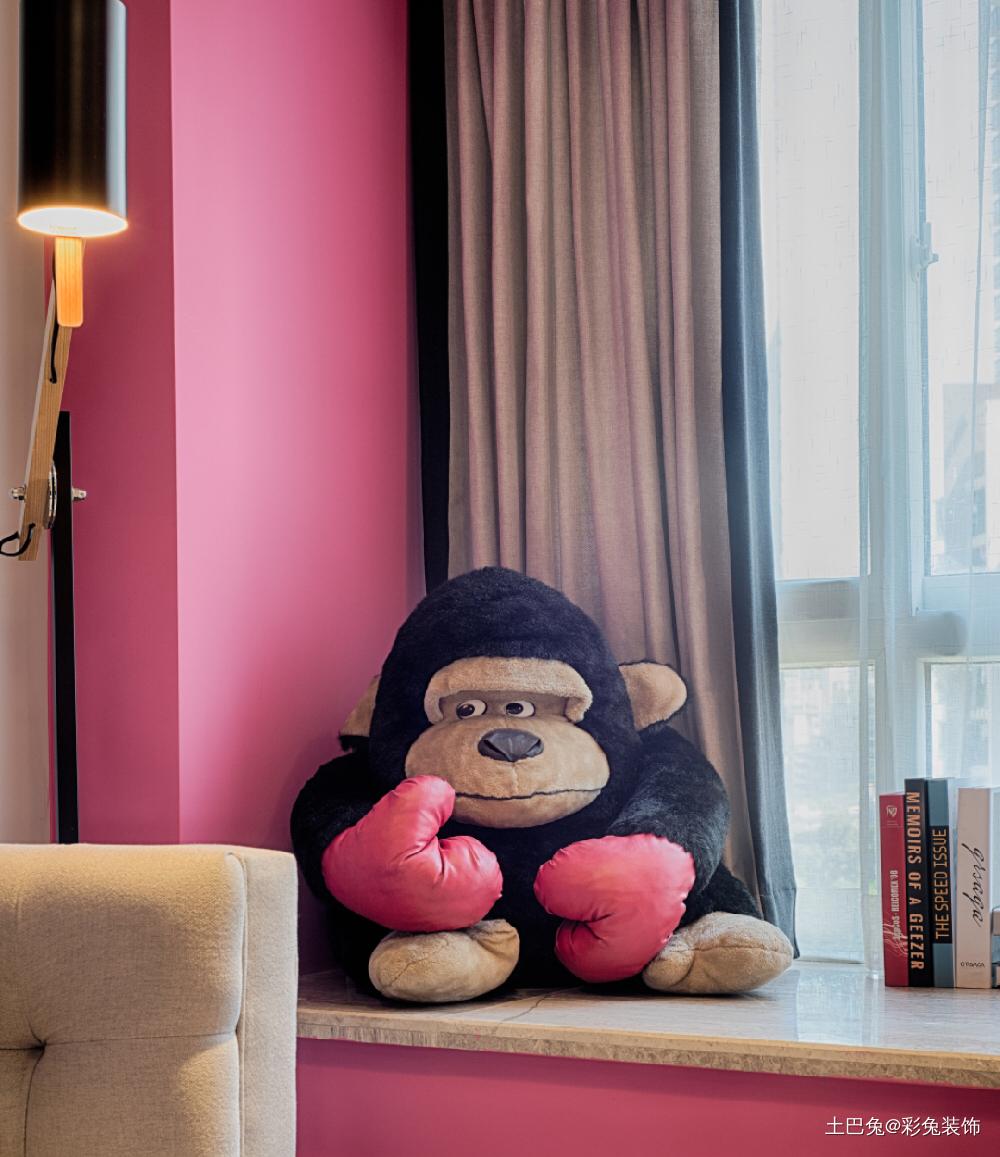 75平米打造五彩缤纷的家客厅现代简约客厅设计图片赏析