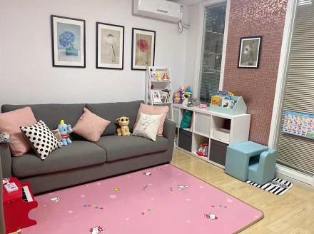 79平两室一厅简约装修客厅1图