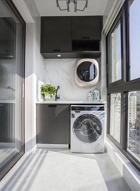 103平米打造简约生活阳台现代简约设计图片赏析