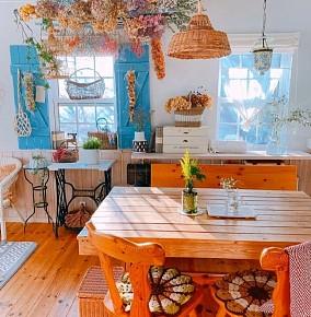 日系田园的清新貌美小家厨房2图日式设计图片赏析