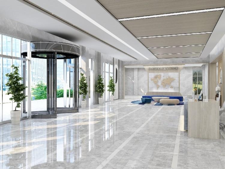 799平方工装新中式大厅