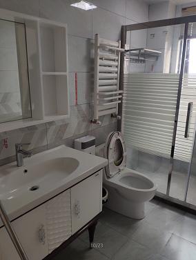 140平简欧风格案例欣赏卫生间2图欧式豪华设计图片赏析