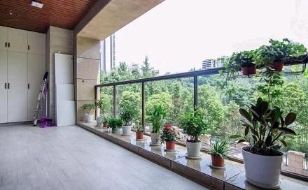 140㎡现代混搭,时尚优雅,简洁耐看!阳台2图