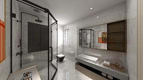 住宅篇移步变景的新中式卫生间中式现代设计图片赏析