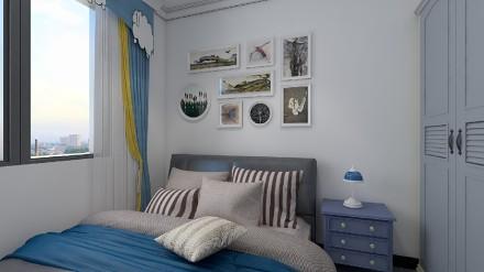 回归自然,感受地中海式的风光卧室1图