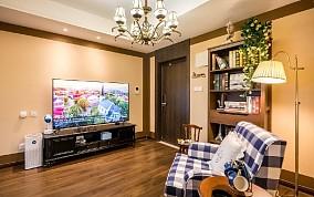 43平一人独居的小家客厅2图美式田园设计图片赏析