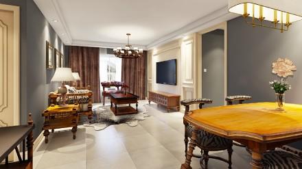 中式三居室,安静典雅,装修就是要这样厨房