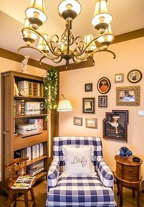 43平一人独居的小家客厅1图美式田园设计图片赏析