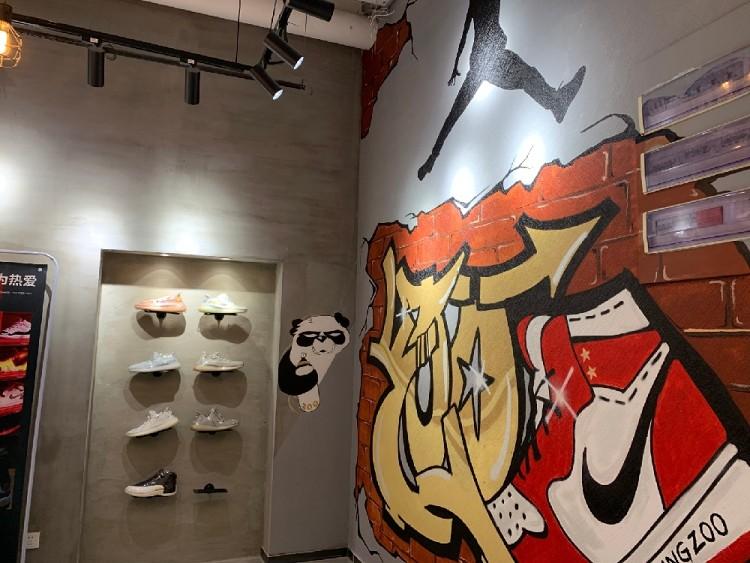 【工裝】南大街鞋柜專賣店