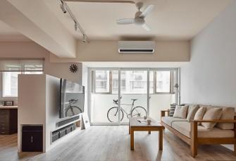 76平北欧风两居室,简洁而宁静
