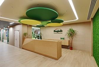 1800方食品类行业办公空间设计