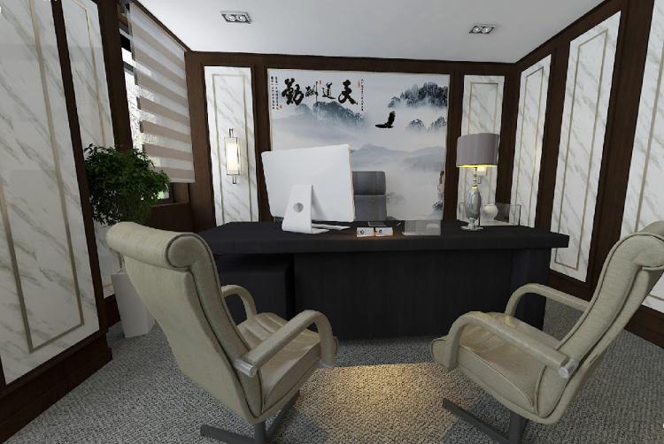 110平方董事长办公室套间设计