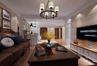 三室两厅美式装修高贵典雅