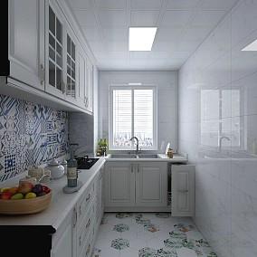 70m²的房子这样改,小夫妻的不二之选餐厅1图美式田园设计图片赏析