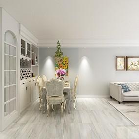 70m²的房子这样改,小夫妻的不二之选厨房美式田园设计图片赏析
