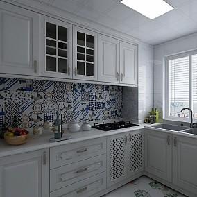 70m²的房子这样改,小夫妻的不二之选餐厅2图美式田园设计图片赏析