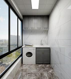144㎡浪漫主义的简欧设计阳台欧式豪华设计图片赏析