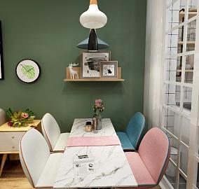 花前树下,北欧风格,三居室厨房北欧极简设计图片赏析