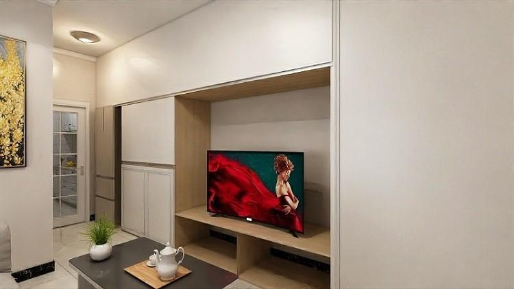 87平米两室房屋装修