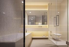听蓝时光杨女士的小窝卫生间中式现代设计图片赏析