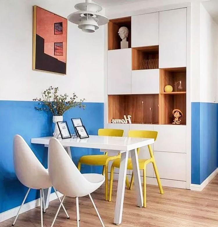 86㎡北歐兩室,床和書桌一體,省空間