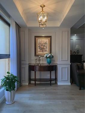 140平美式风格给你想要的家玄关美式经典设计图片赏析