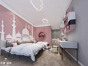空间展现着建筑美学,现代的大气和典雅卧室现代简约设计图片赏析