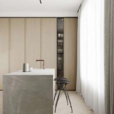 130㎡现代公寓客厅,舒适的极简主义