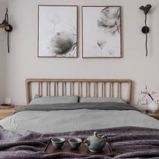 90㎡7万新中式卧室空间