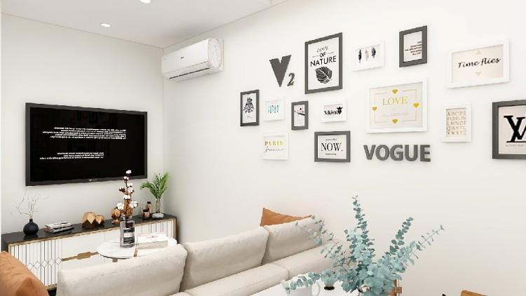 60平現代風格兩居室