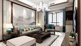 新中式风格洋溢着浓郁的东方特色!16393711