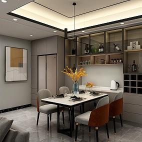 现代简约住宅,精致优雅的家厨房设计图片赏析
