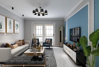 两居室、现代风格87平