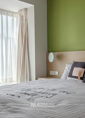70m²温馨北欧,素雅简洁卧室北欧极简设计图片赏析