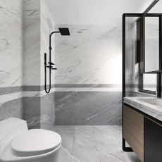 110平三居室现代简约风格16570530