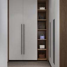 110平三居室现代简约风格-功能区/衣帽间篇