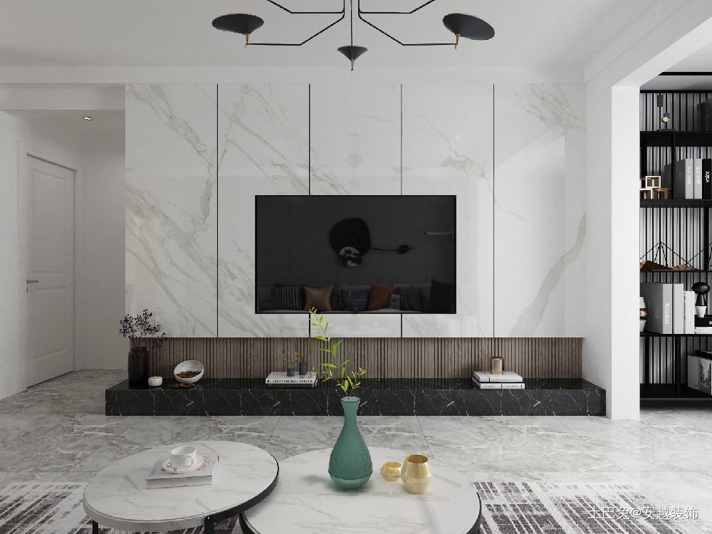 110平三居室现代简约风格客厅篇客厅现代简约客厅设计图片赏析