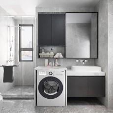 110平三居室现代简约风格-卫生间篇