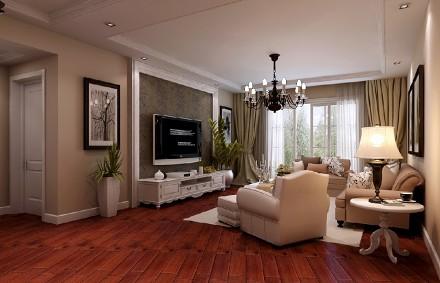 升龙城130平方装修方案客厅