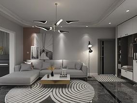 140平现代风格四居室16585703