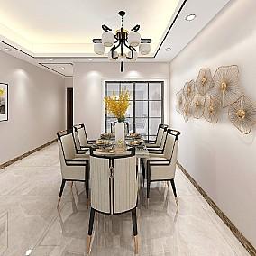 98㎡新中式,轻松又端庄的设计感厨房1图中式现代设计图片赏析